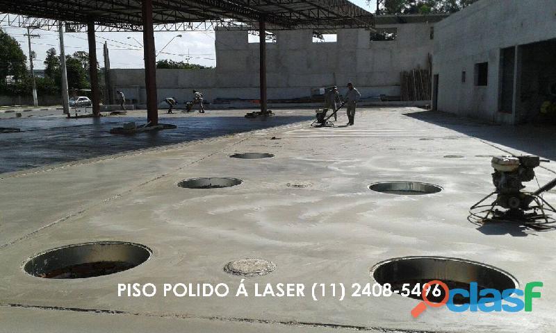 Piso Polido a Laser (11) 2408 5496