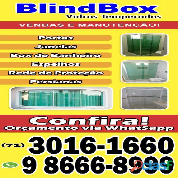 venda e manutenção de blindex 71 9 9912 9050