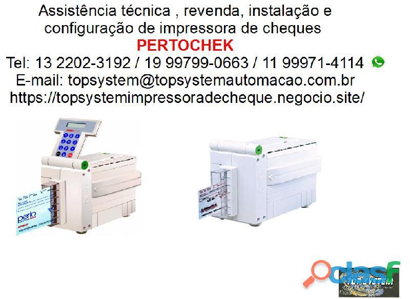 Top system assistência técnica autorizada impressora de cheque pertocheck em são josé dos campos