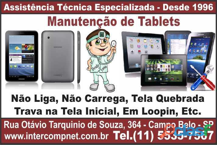 Assistência técnica de tablet samsung lenovo asus genesis navcity são paulo sp campo belo moema broo
