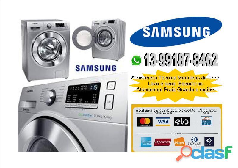 Assistencia tecnica samsung eletrodomesticos (13) 99187 8462