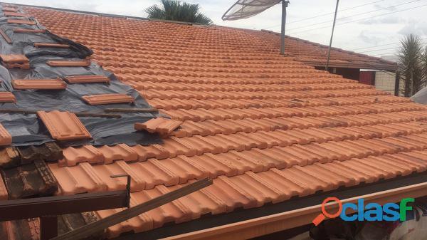 Pinturas reformas em telhados em jundiai/(011)942838224