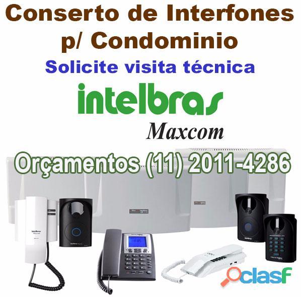 Maxcom interfonia digital intelbras