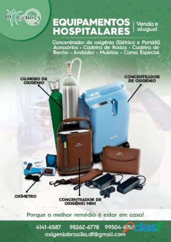 Aluguel de oxigênio em brasília (61) 4141 6587