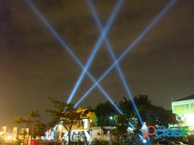 Iluminação show / canhão de luz sky walker / www.skydobrasil.com.bro