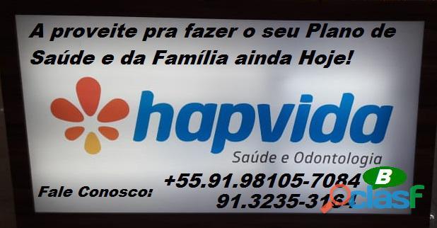 VENDAS DA HAPVIDA SAÚDE COM DESCONTO NO PLANO FAMILIAR FALE PELO NOSSO WHATSAPP. 4
