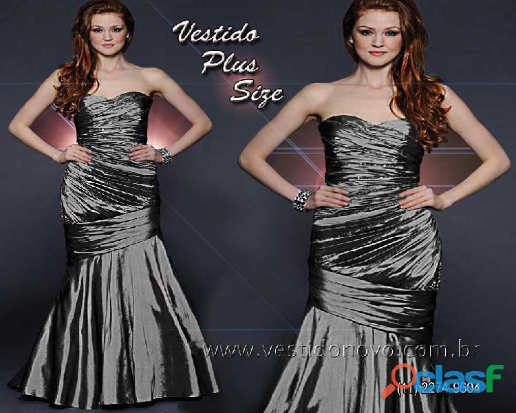 Vestido plus size, bodas de prata, zona sul