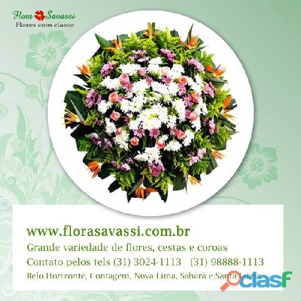 Floricultura coroas de flores em são josé da varginha, são sebastião do oeste, sarzedo, sete lagoas