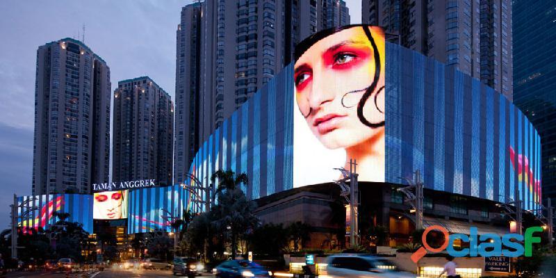 Publicidade em painéis eletrônicos de leds,painel de leds outdoor,telas led para publicitarios