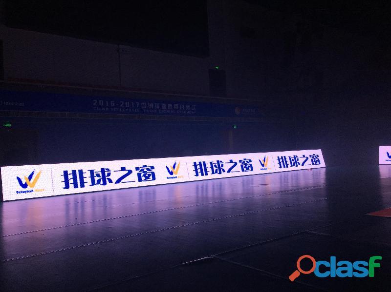 Painel de leds para o perímetro de estádio de futebol e eventos esportivos 5
