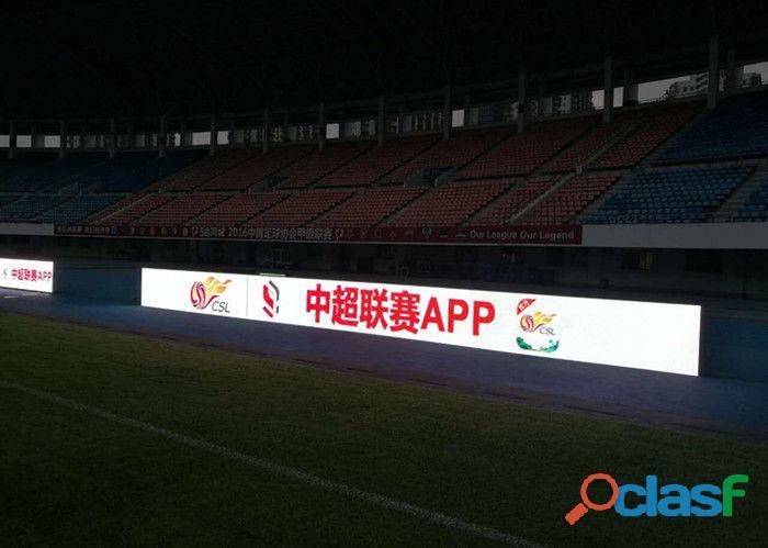 Painel de leds para o perímetro de estádio de futebol e eventos esportivos 7