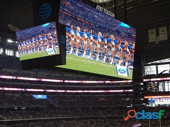 Painel de leds para o perímetro de estádio de futebol e eventos esportivos 2