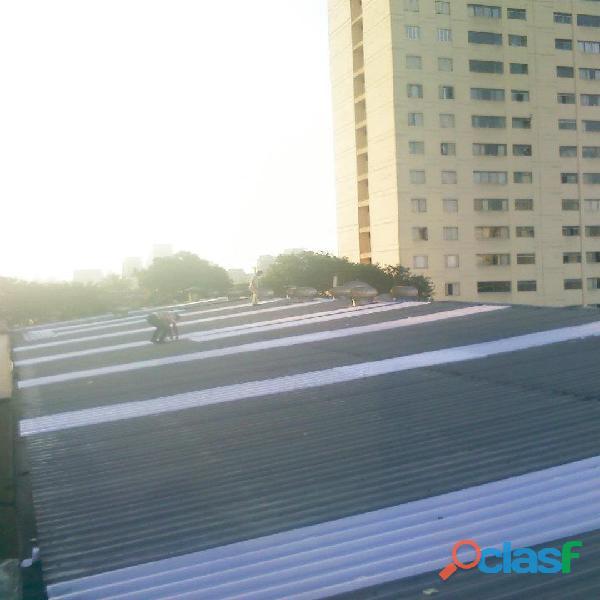 M.a.c manutenção telhado industrial (011) 4669 1281 diadema,santo andré,são bernardo,são caetano
