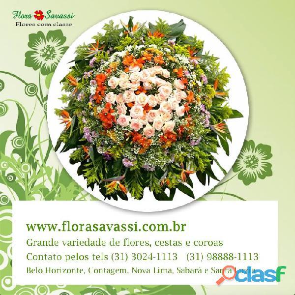 R$ 190,00 Entregas Coroas de flores Velório Funeral House BH floriculturas BH, Coroas de flores BH