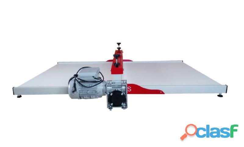 Máquina de Corte e Vinco elétrica ( Semi automática)   100cm boca   Shop Bs Máquinas