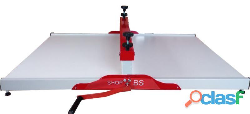 Maquina de corte e vinco Manual 50cm   SHOPBS   para embalagens e caixa de pizza