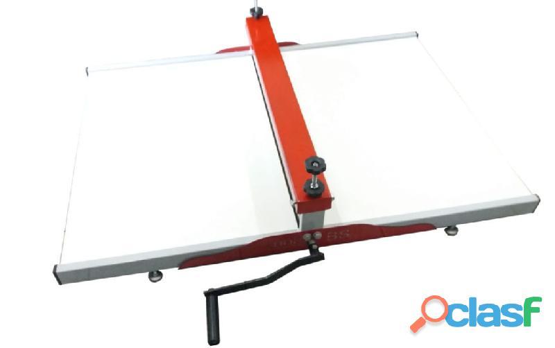 Maquina de corte e vinco Manual 50cm   SHOPBS   para embalagens e caixa de pizza 2