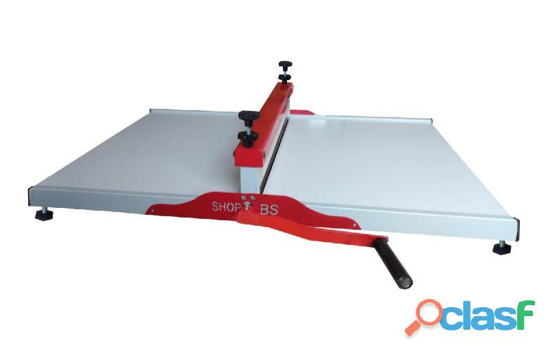 Maquina de corte e vinco Manual 70cm SHOPBS embalagens e caixa de pizza