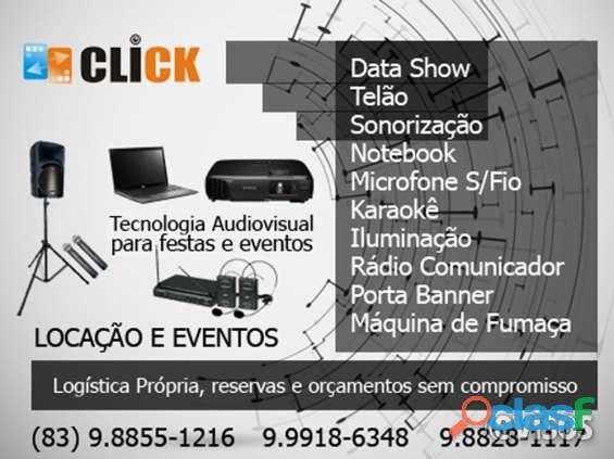 Aluguel de data show em João Pessoa