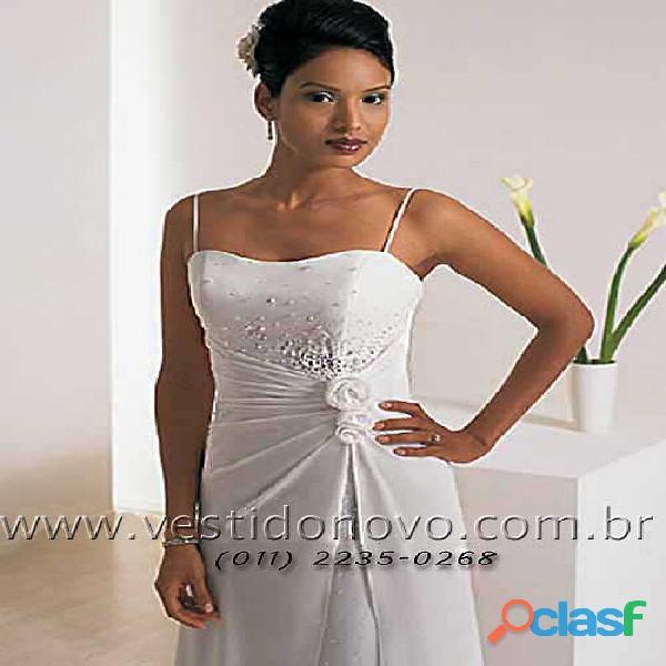 Vestido branco casamento civil, casamento na praia, aclimação, vila mariana, ipíranga