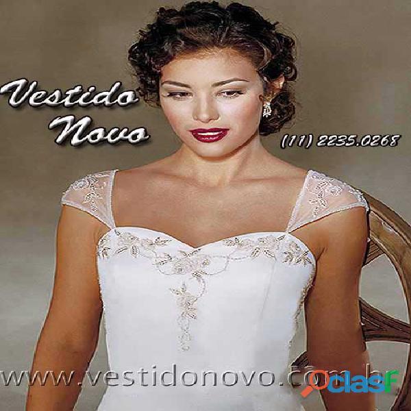 Vestido branco casamento civil