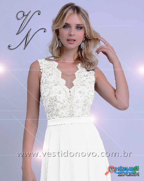 Vestido branco, casamento civl, loja vestido novo, zona sul, aclimação, ipiranga