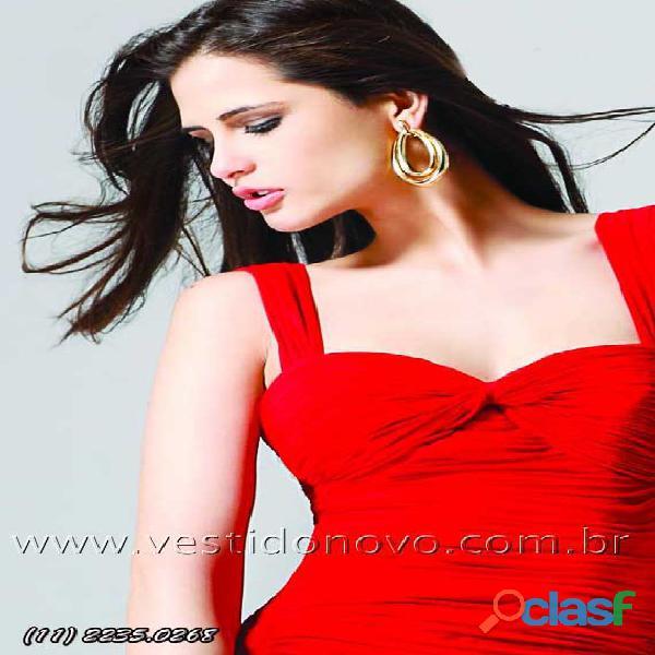 Vestido vermelho de formatura plus size loja na zona sul