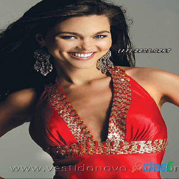 Vestido de formatura, vermelho, aclimação, cambuci, vila mariana, zona sul