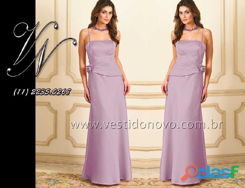 Vestido lilas mae do noivo, aclimação, vila mariana, zona sul
