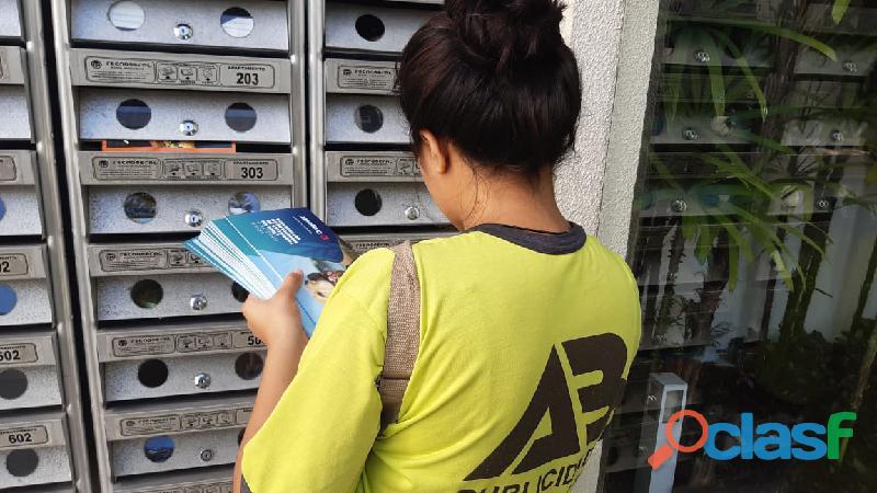 Distribuição de Panfletos em Porto Alegre, Gravatai, cachoeirinha, Esteio, Canoas, Novo Hamburgo,
