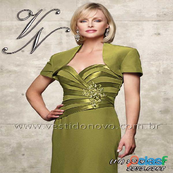 Vestido dourado mãe de noivo, tafeta importado, aclimação, cambuci, vila mariana, zona sul