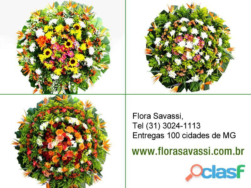 190,00 coroas de flores em contagem mg cemitério belo vale em santa luzia mg