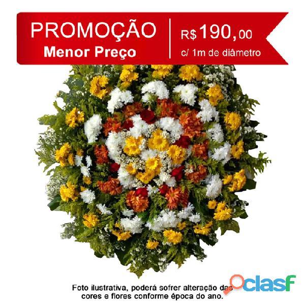 Entrega coroas de flores belo horizonte e região metropolitanas de bh coroas flores r$ 190,00