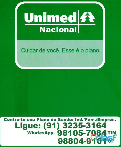 Unimed nacional vendas c/promoção do mês, compre agora; ligue e faça seu e família.