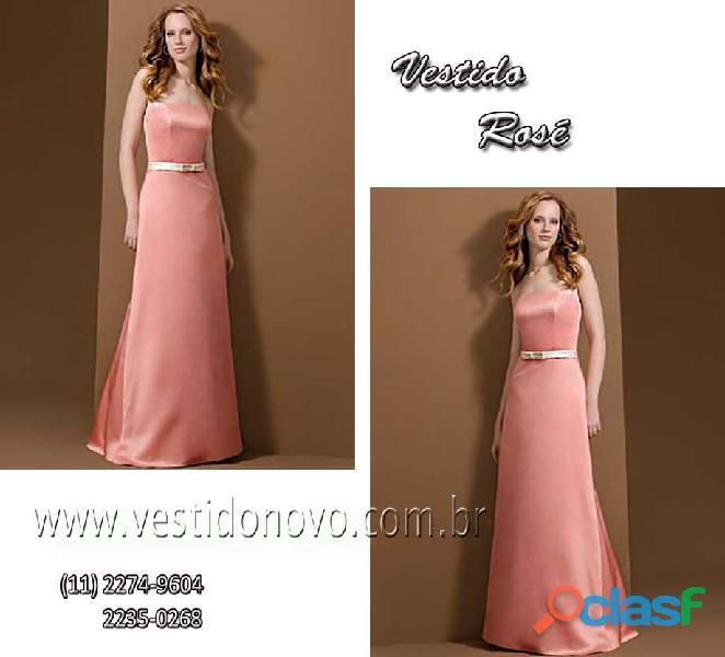 Vestido mae de noivo plus size rosa pastel, aclimação, vila mariana, zona sul