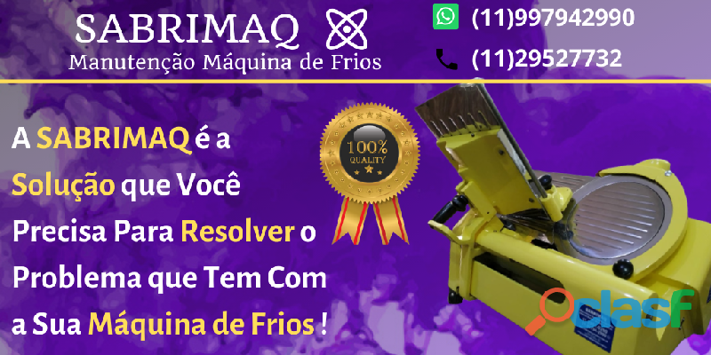 【SABRIMAQ FILIZOLA】Super Oferta Maquina de Frios