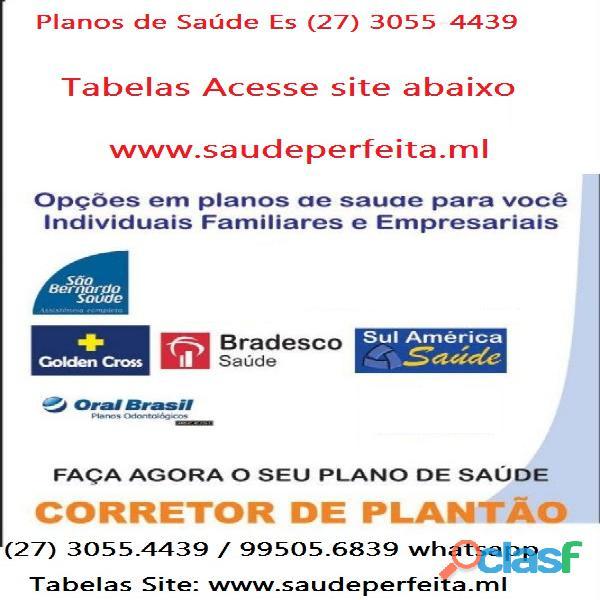 Planos de Saude Es Tabelas (27) 3055 4439