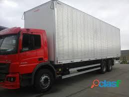 Frete e transporte caminhão truck bau de 10 mts com plataforma