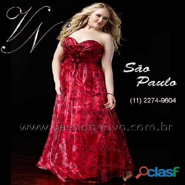 Vestido floral vermelho , plus size, tamanho grande, aclimação, vila mariana, zona sul