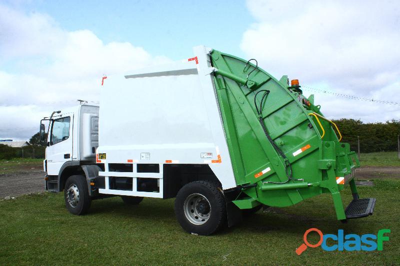 Aluguel de caminhão coletor de lixo usado,semi novo