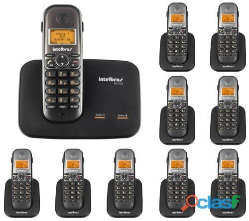 Telefone sem fio para 2 linhas intelbras