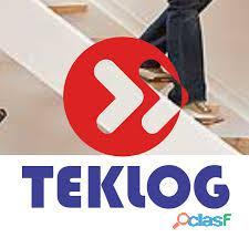 Teklog transporte serviços de armazenagem.