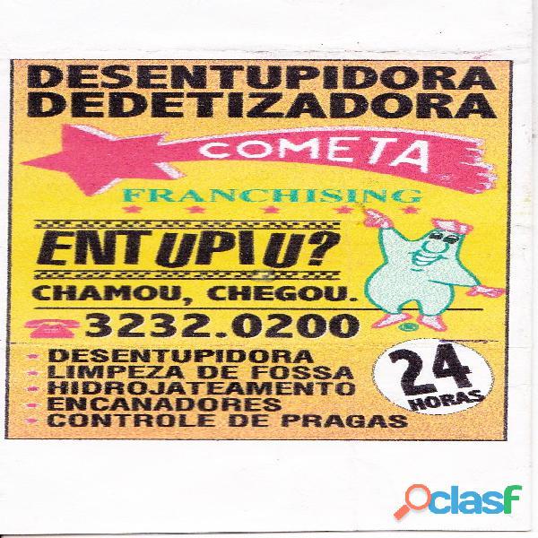 Desentupidora/Desentupimento/Dedetizadora/Dedetização 7