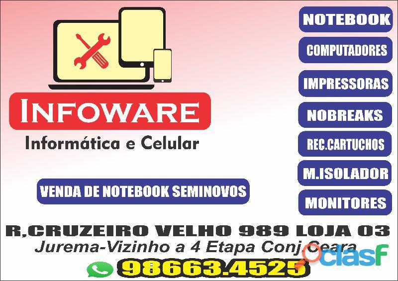 Compra de Notebook Com Defeito Fortaleza 986634525
