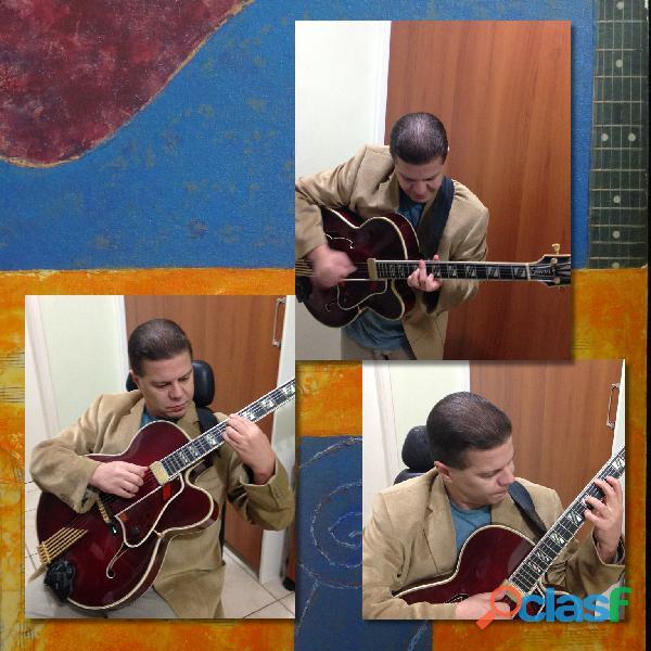 Guitarra / violao / cavaco / baixo / harmonia / improvisacao / arranjo