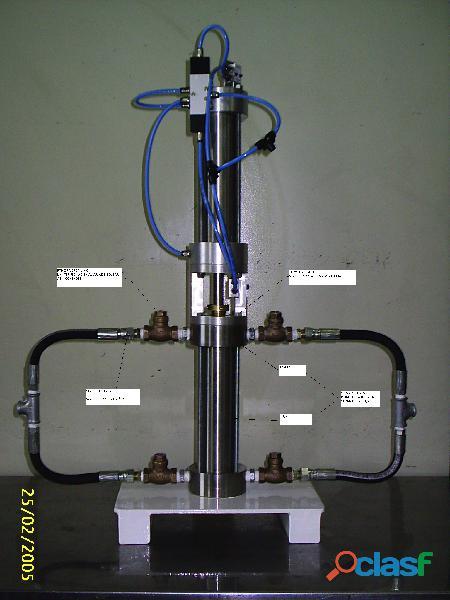 ENVASE Aerosol Maquina TEKNIZA para fabricação dos PRODUTOS 2