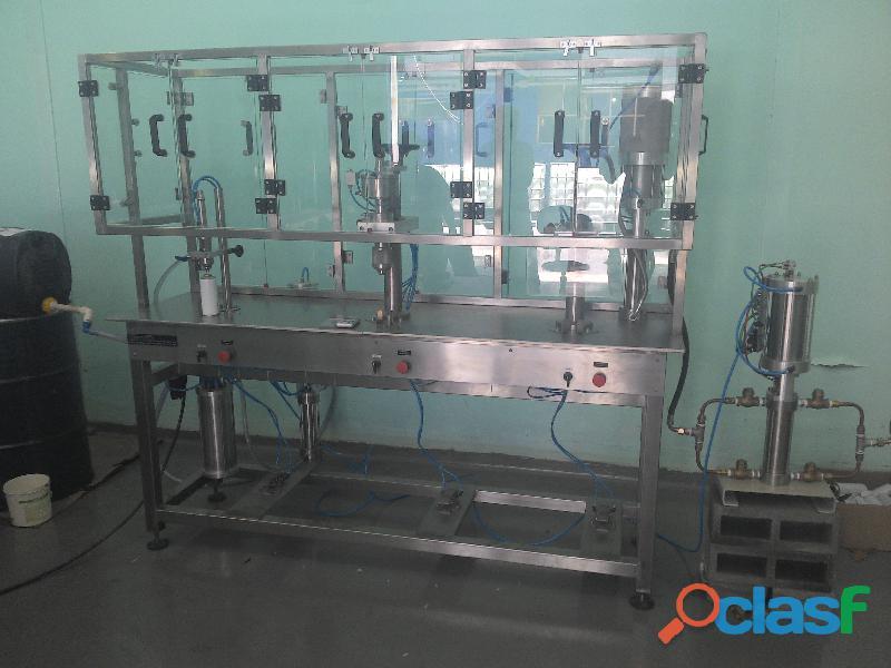 ENVASE Aerosol Maquina TEKNIZA para fabricação dos PRODUTOS 1