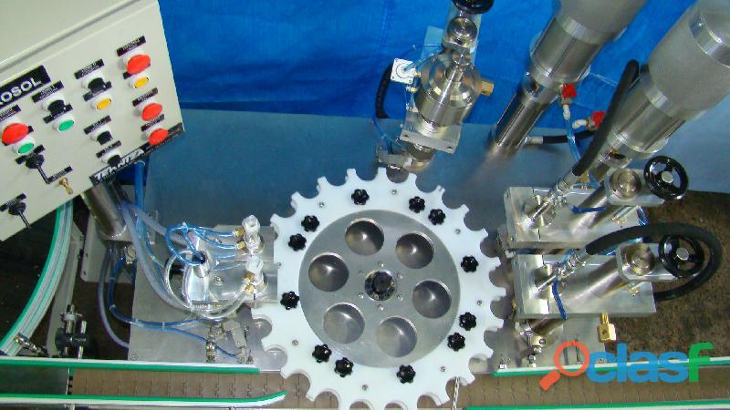 ENVASE Aerosol Maquina TEKNIZA para fabricação dos PRODUTOS 8