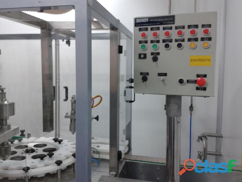 ENVASE Aerosol Maquina TEKNIZA para fabricação dos PRODUTOS 15