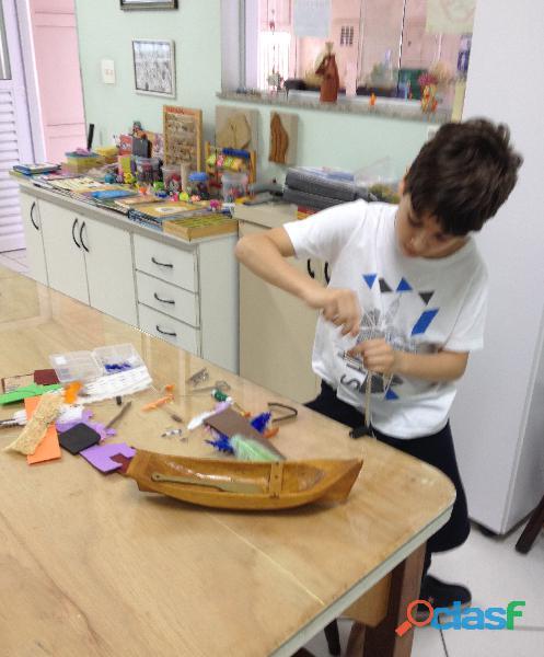 curso   Desenho artístico e Oficina de artes para crianças